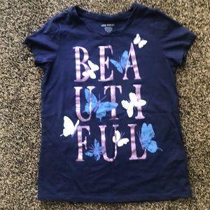 """Girls """"BEAUTIFUL"""" Shirt"""